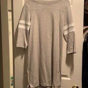 JCREW Jersey Grey dress